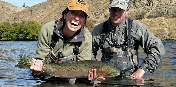 Fly fishing the world famous Deschutes River for thrilling Steelhead and Trout.