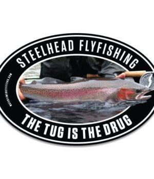 Steelhead Fly Fishing Decal