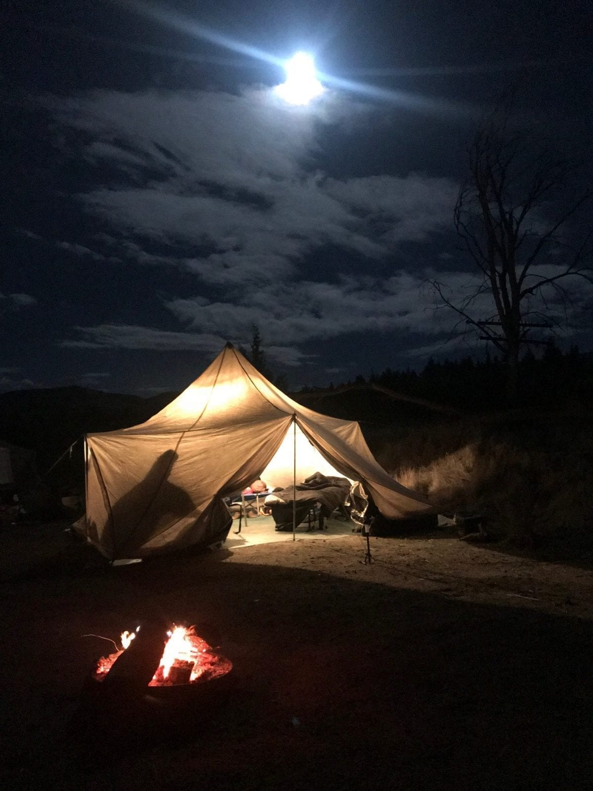 Water Time Outfitters Camp on the Deschutes River