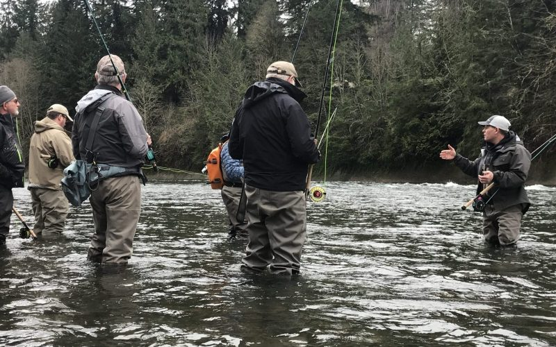 Learning the tricks of winter steelhead success in the Clackamas River Steelhead Workshop